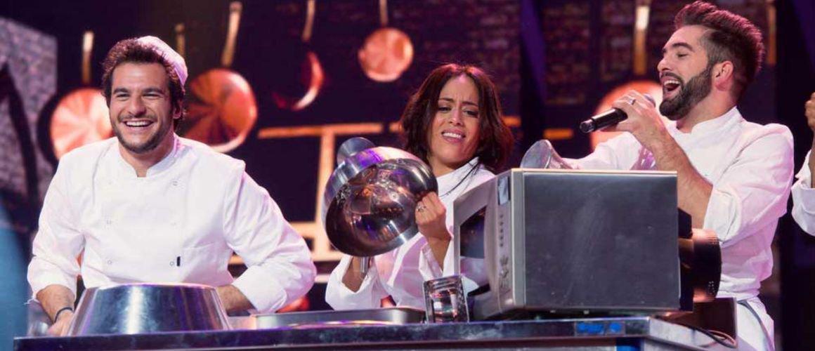 """Amir : """"Les Enfoirés, c'est encore plus fort que l'Eurovision !"""""""