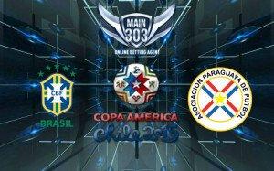 Prediksi Brasil vs Paraguay 28 Juni 2015 Copa America