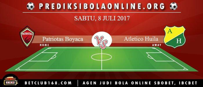 Prediksi Patriotas Boyaca Vs Atletico Huila 8 Juli 2017