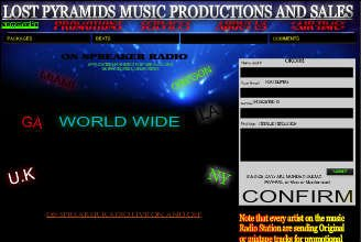 Lost Pyramids Music Productions | Wix.com