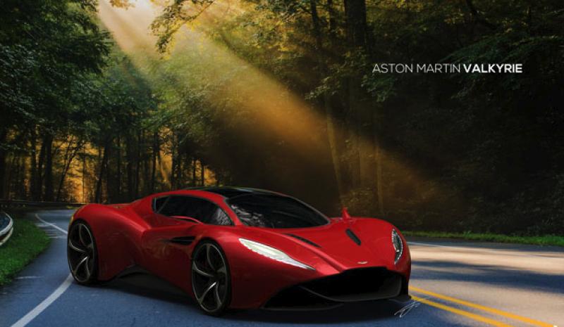 Aston Martin Valkyrie concept finally revealed