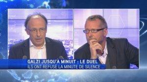 Le Duel d'Olivier Galzi : Belgique/Refus de la minute de silence/Amalgames