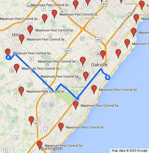Maximum Pest Control Services, Oakville, ON Canada, +1 905-582-5502, www.maximumpestcontrol.ca