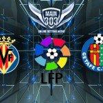 Prediksi Villareal vs Getafe 24 November 2014 Primera Divisi