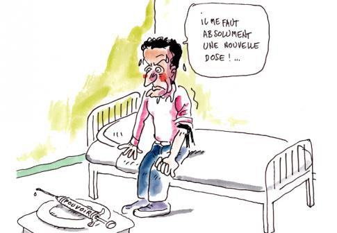 FRANCE • A Montréal, Sarko se réjouit des déboires de Hollande