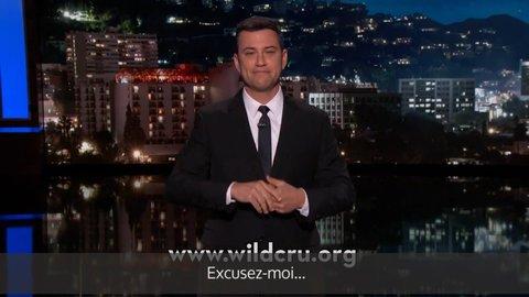 Jimmy Kimmel ému aux larmes en parlant du lion Cecil (traduction)