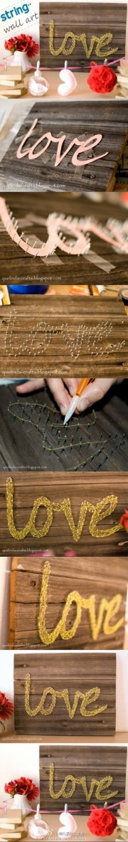 string art | Wedding Ideas | Pinterest