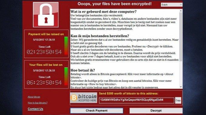 Cyberattaque mondiale par ransomware WannaCry