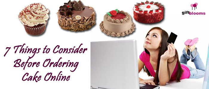7 Things To Consider Before Ordering Cake Online | Julian Sherman