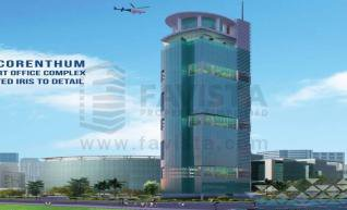 Commercial Properties in Noida, The Iconic Corenthum in Sector 62 Noida