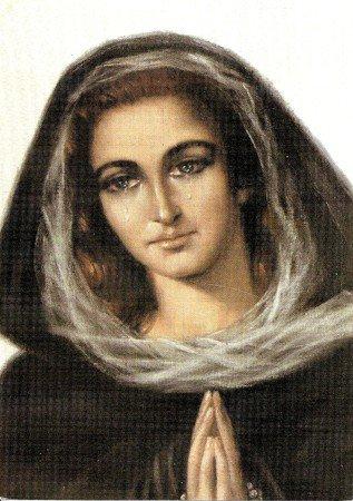 La Vierge des Douleurs de l'Escorial - images saintes