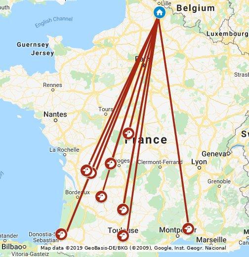 Alc Calc 2020 - Google My Maps