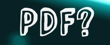 PDF Full form – PDF File के बारे में कुछ जानकारी – पीडीऍफ़