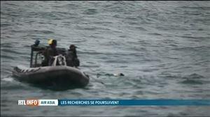 Crash d'un A-320 d'AirAsia: des nouveaux corps ont été découverts - Vidéo - RTL Vidéos