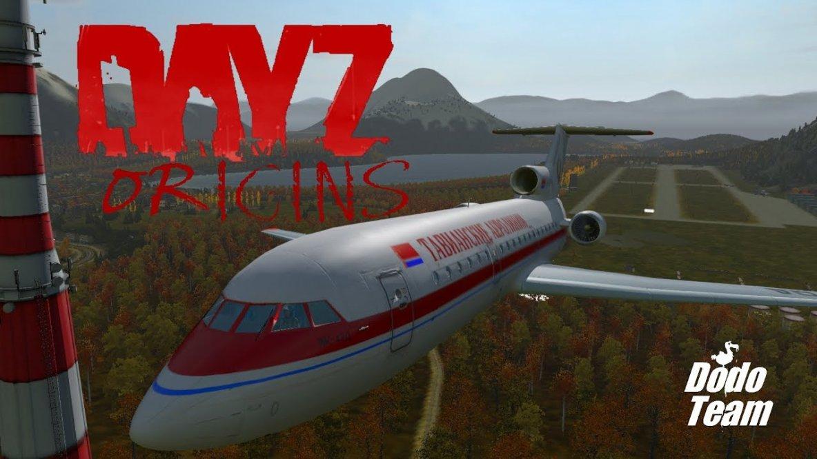 DayZ Origins - Jakowlew Jak-42d Clobber