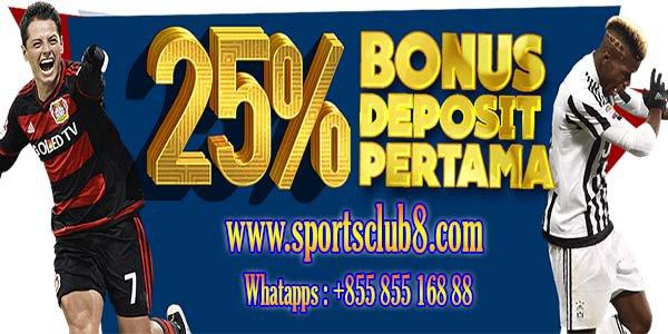 Sportsclub8 Situs Agen Judi Bola Terbesar di Indonesia
