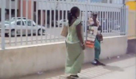Vidéo: Le marabout viol une jeune fille de 18 ans alors qu'elle est en crise d'épilepsie. Regardez