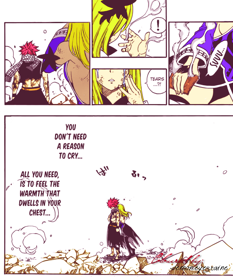 NaLu - Just...Thank you..