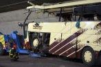 Drame de Sierre: vingt-huit morts dans un terrible accident de car sur l'A9 - Arcinfo - site de L'Express, L'Impartial et de Canal Alpha