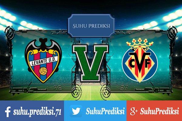 Prediksi Bola Levante Vs Villarreal 22 Agustus 2017