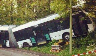 Accident de bus vers la Grand-Mare à Rouen : au moins 17 blessés