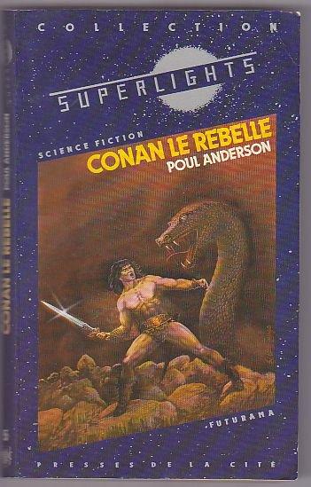 Conan le rebelle de Poul Anderson