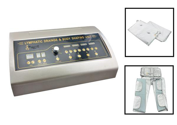 Project E Beauty Far Infrared Air Pressure Detox Lymph Body Thermal Slimming Blanket Spa Machine