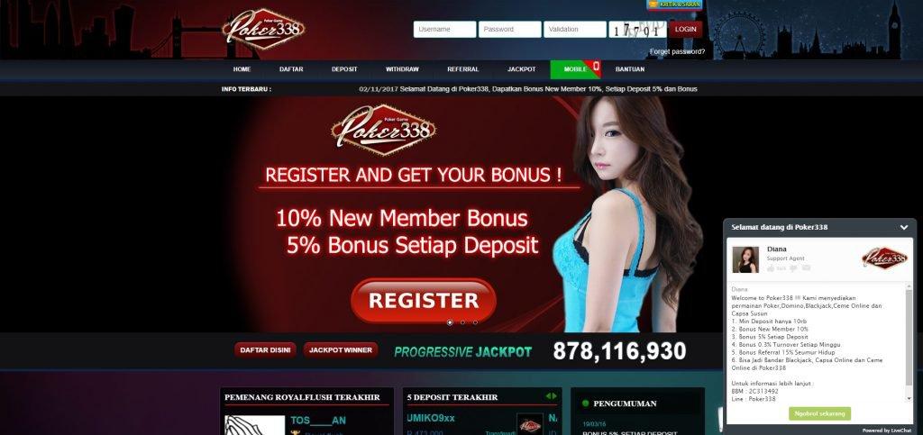 Agen Poker Online Terpercaya