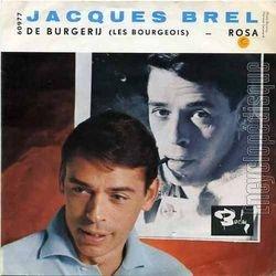"""Jacques Brel chante en néerlandais - """"De Burgerij"""" (Les Bourgeois)"""