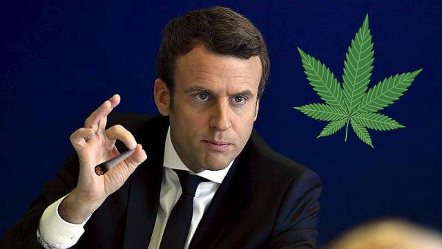 Macron va-t'il changer les lois sur le cannabis en France?