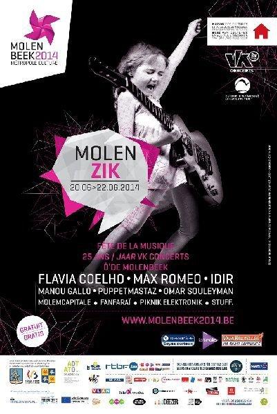 Sur les pavés, de la musique ! 3 jours de fête pour célébrer Molenbeek et les 25 ans de vk concerts ! - Last night in Orient
