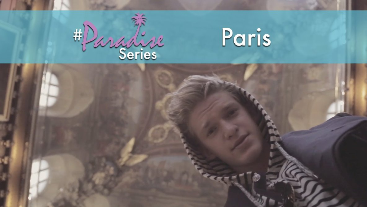 Ooh la la! Me and my family spent the day in Paris on this week's #paradiseseries sightseeing: