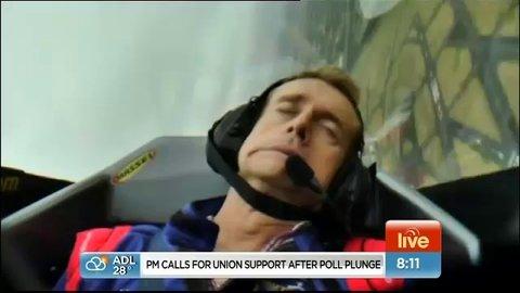 Australie: Un présentateur météo fait un malaise en direct !