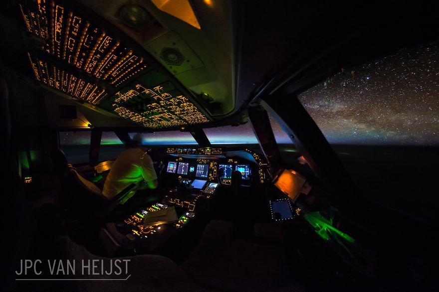 Pilot prend des photos étonnantes de son poste de pilotage, prouve que les pilotes ont les meilleures vues du bureau dans le monde