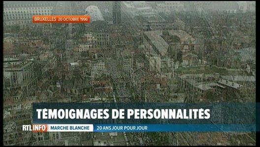 Marche blanche, 20 ans après: un évènement qui a marqué les Belges