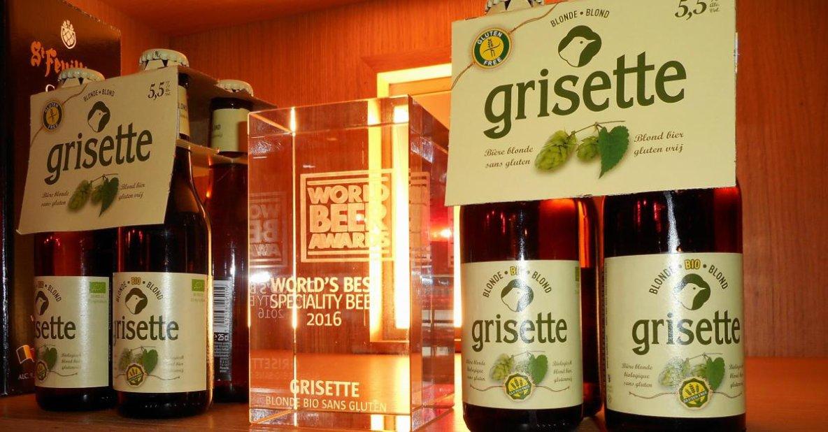 La Grisette Blonde de Saint-Feuillien, meilleure bière du monde dans sa catégorie