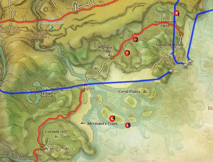 Hot Housing Areas of Two Crowns and Sanddeep for ArcheAge Gold / Leveling in Nuia
