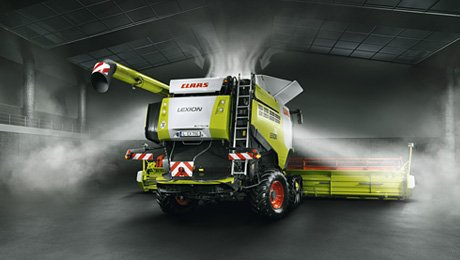 CLAAS | LEXION. Un gage de performance.
