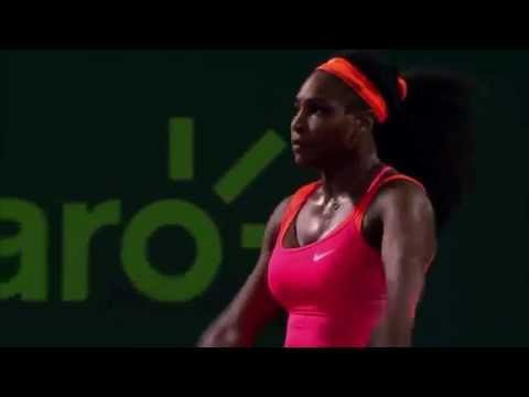 Serena Williams into Miami Open final after beating Simona Halep