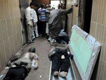 ضباط شرطة يهتفون' يحيا العدل'بعد إلغاء الأحكام في مجزرة سيارة الترحيلات