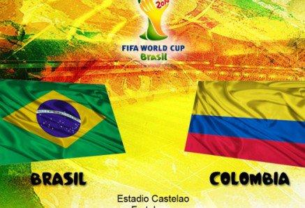 بث مباشر مباراة البرازيل وكولومبيا