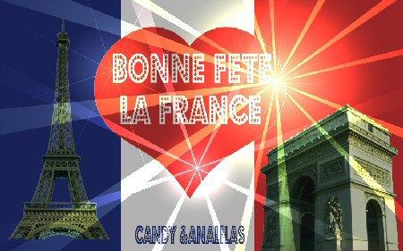 Fete Nationale 14 Juillet en France