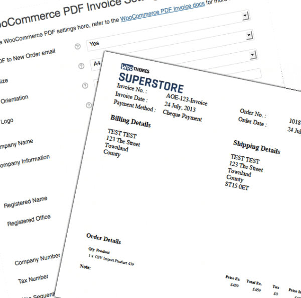 PDF Invoices 4.0.1 Extension For WooCommerce - Get Lot