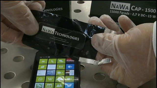 Smartphones : demain, des batteries rechargées en quelques secondes