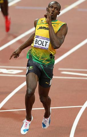 Usain Bolt Headlines Athletes Page
