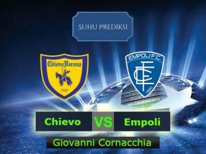 Prediksi Bola Chievo Vs Empoli 12 Maret 2017