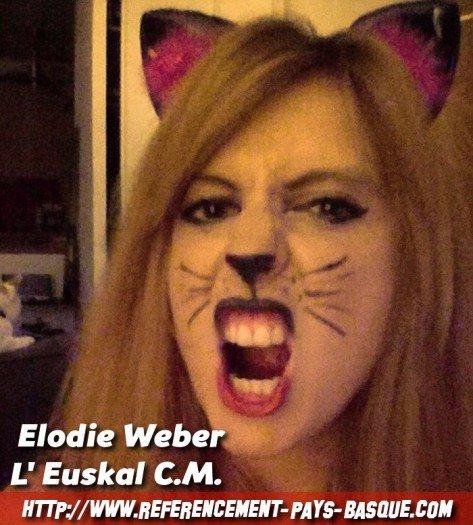 Bonjour Elodie, tu es notre Lindsay Lohan basque avec un tempérament de pottock, peux tu te présenter ?
