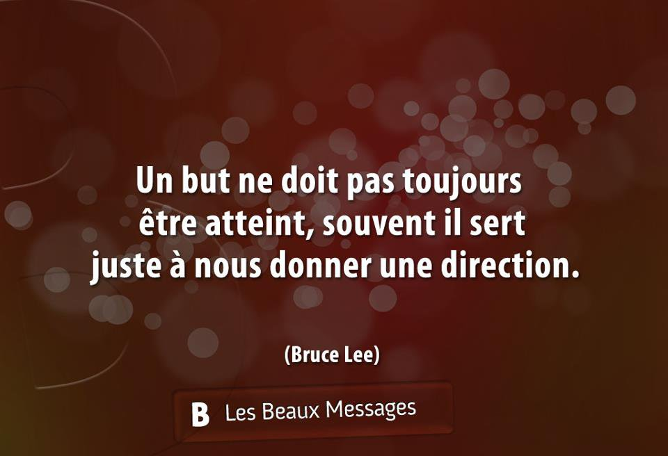 Un petit message de Bruce Lee