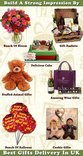 Build A Strong Impression By Gifts Delivery In UK
