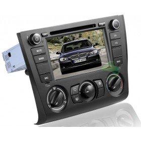 Android 4.0 Auto DVD Player GPS Navigationssystem für BMW E88 1 Series(2004 2005 2006 2007 2008 2009 2010 2011 2012) Convertibl (manuelle Klimaanlage+beizbarer Sitz)
